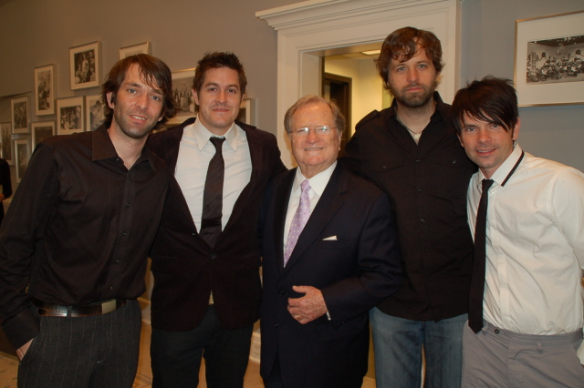 BR with Jars of Clay at Hymn Sing
